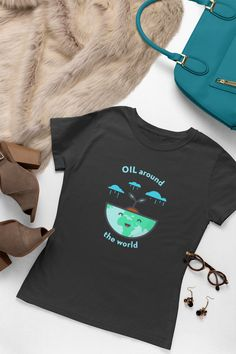 Show your passion for Essential Oils with this lovely Essential Oils Tee. Or give it as the perfect gift! Doterra, Essential Oils, Essentials, Passion, Tees, Gift, Women, T Shirts, Gifts