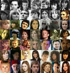 Doctor Who Companions 1963-2013. I'm pinning this for the sheer fact that Craig is included in this and he is my favorite companion but nobody includes him!!!!!!