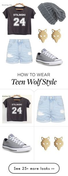 """""""Teen Wolf!!!"""" by allicat324 on Polyvore featuring Topshop, Converse and Phase 3"""