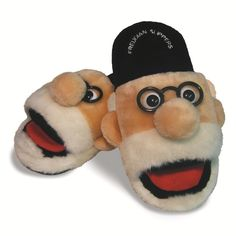 Apply Freud's deft psychoanalysis and therapy to your tired feet in these plush slippers.