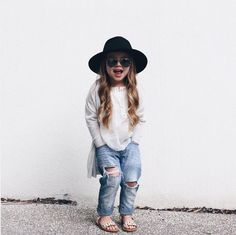 464c6bfeead33 look do dia chapeu Outfits Niños