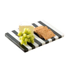 Shiraleah // Piedmont Striped Marble Cheese Board