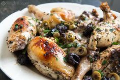 Chicken Marbella Recipe | SimplyRecipes.com