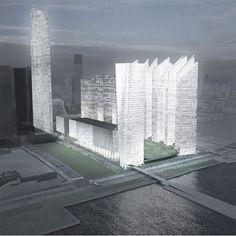 Dezeen » Blog Archive » Hudson Yards masterplan by Steven Holl