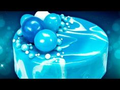 DIY Mirror Glaze Cake Marble Decorating Recipe