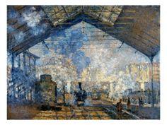 Gare St-Lazare_Claude Monet.