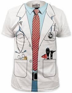 Doctor Suit Costume T-Shirt