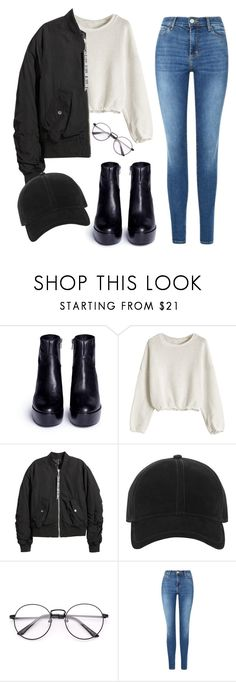 """""""Cine"""" by magscerasuolo ❤ liked on Polyvore featuring Ash, H&M, rag & bone and Topshop"""