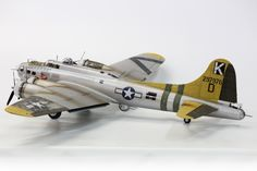 HK 1/32 B-17 in the markings of Yankee Lady