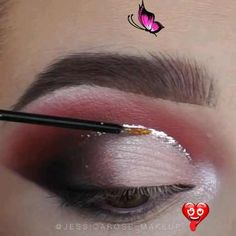 Glitter Eye Shadow Makeup ( Stylio Cosmetics is a cosmetics brand. Worldwide Delivery ) By: @jessicarose_makeup<br> Glitter Eyeshadow, Eyeshadow Makeup, Makeup Videos, Eye Color, Never Give Up, Eye Shadow, Natural Makeup, Kylie Jenner, Selena