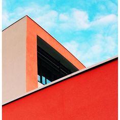 Shaping the sky #minimalist #colorful #sky #minimal #minimalist #minimalism #blue #buildings #architecture