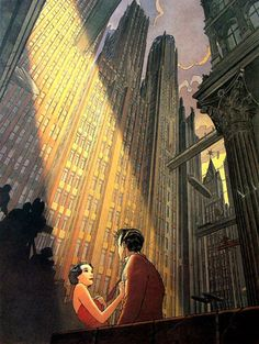 Francois Schuiten. Ever since I found my dad's compilation of Schuiten works, I've had a passionate love for this wonderful artist.