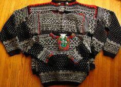 Ravelry: Project Gallery for Setesdal Sweater (Norway) pattern by Merete Lütken Sweater Knitting Patterns, Knit Patterns, Hand Knitting, Design Patterns, Nordic Sweater, How To Start Knitting, Vintage Knitting, Baby Sweaters, Baby Patterns