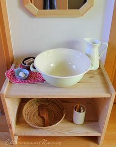 HOW TO SET UP A MONTESSORI INSPIRED SELF CARE STATION FOR YOUR TODDLER