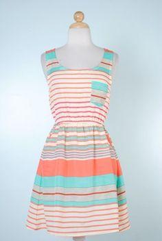 Soda Fountain Sweetheart Dress