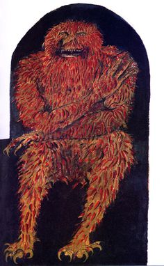 MONSTER BRAINS: Leonard Baskin - Imps, Demons, Hobgoblins, Witches, Fairies and Elves, 1984