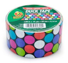 Spotted Duck (not Duct) Tape