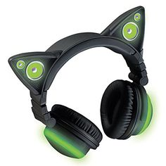 Amazon.com: Wireless Cat Ear Headphones (Color Changing): Cell Phones & Accessories
