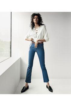 m File, minimal, denim, style, model