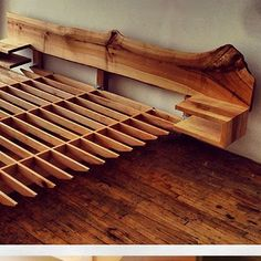 """like the idea of a separate headboard with a """"floating"""" bedframe"""