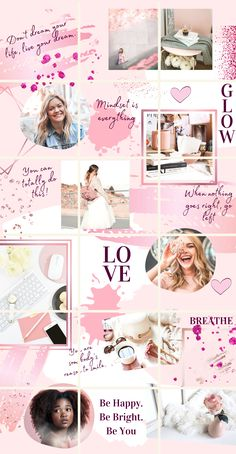 €6.99 · Rose Gold and Blush Instagram Puzzle Template | Instagram Puzzle Template | Rose Gold Instagram | Blush Instagram | Instagram Posts | Feminine Instagram Feed | #bossbabeinstagram #rosegoldinstagram #instagrampuzzletemplate