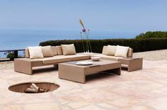 The Winner, Best Patio Furniture 2012: About.com Readers' Choice Awards: Brown Jordan's new Elements collection by designer Richard Frinier.