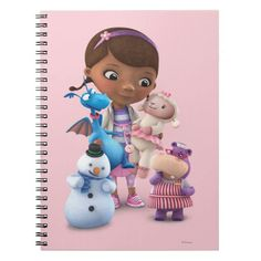 Doc McStuffins and Her Animal Friends Spiral Note Books