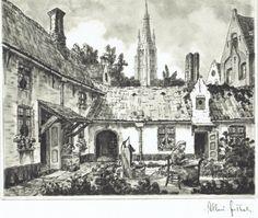 Bruges, Maison-Dieu, Albert Goethals
