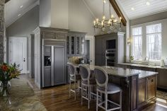 Kitchen | Stucco & Stone with European Flair | Dillard-Jones | Dillard-Jones Builders | In Town | Lake | Mountains