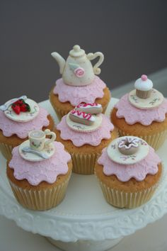 Anyone for Tea — Katies Cup Cakes