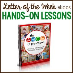 You'll be blown away by the letter of the week curriculum in this ebook! You'll find hundreds of the very best hands-on preschool activities... all in one place!
