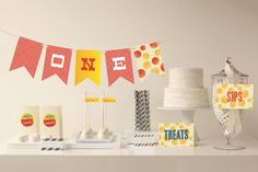 Greatest Circus Party Decor by Andres Montaño at minted.com