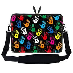 Meffort Inc 17 17.3 inch Neoprene Laptop Sleeve Bag Carry…