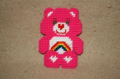 492 rainbow care bear magnet