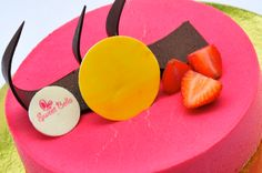 The Pearl. Pink guava mousse filled with flambeed mango. From Sweet Bella at Burgos Circle. Pink Guava, Incredible Edibles, Mousse, Mango, Pearl, The Incredibles, Sweet, Manga, Candy
