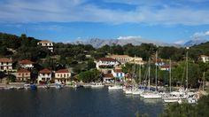 Vathy harbour (Meganisi)
