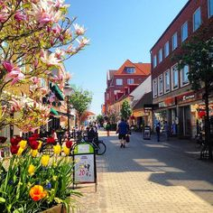 The picturesque city of Ystad, south coast of Sweden. May 10, 2016…
