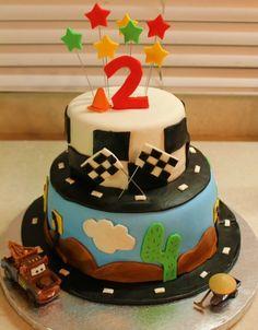 Disney Cars Cake By Chrissythesugarmommy on CakeCentral.com
