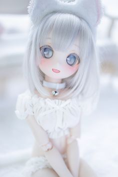 Kawaii Doll, Kawaii Anime, Pretty Dolls, Beautiful Dolls, Japanese Art Styles, Cute Japanese Girl, Smart Doll, Anime Dolls, Doll Repaint