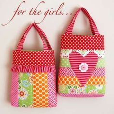For the Girls $15.00 pattern