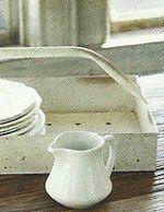 Vintage Style Bulb Tray ~ farmhousewares.com