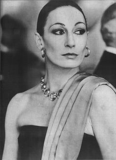 Anjelica Houston: Halstonette, Eleanor Zissou, Hollywood royalty. She's sixty years old, and one of the coolest women alive.