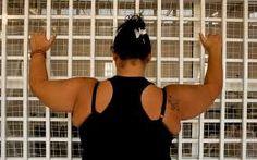 "One of the inmates of Baabda, from the documentary ""SCHEHERAZADE'S DIARY, #Zeina #Daccache.  #arab #cinema #film #prison #women #lebanese #lebanon #HRWFF #anaarabcinema #ANA2014"