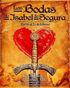 XX Aniversario de Las Bodas de Isabel de Segura #Teruel, 18-21 febrero 2016