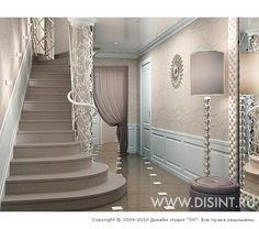 3D дизайн интерьера прихожей в стиле ар-деко - http://www.ok-interiordesign.ru/ph26_design-interyera-prihozhey.php