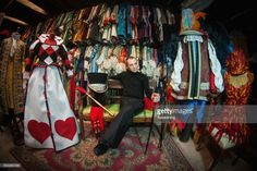 Choreographer and designer Raffaele Dessi poses at Atelier Pietro Longhi, official atelier of the 2017 Venice Carnival, on February 8, 2017 in Venice, Italy. Artisans, masks and costume makers are getting ready ahead of the 2017 Venice Carnival that will last from 11 - 28 February 2017.