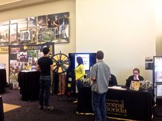 Are you already signed up for Fall 2013 housing on campus? Come get your prize and spin the wheel tomorrow at Orientation! We'll be outside the Pegasus Ballroom from 11:30-4:30 and then again from 11:30-2:30 on Thursday! Buy this Prize Wheel at http://PrizeWheel.com/products/floor-prize-wheels/floor-and-table-prize-wheel-12-24-slot-adaptable/.