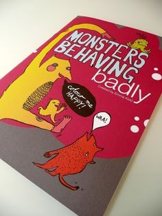 Monsters Behaving Badly Illustrated Interactive Colouring Book