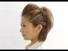 ヘアアレンジ ポンパドール カジュアルボブ pompadour Casual Bob - YouTube Hair Poof, Chin Length Hair, I Love Girls, Cute Hairstyles, Hair Lengths, Hair Styles, Beauty, Fashion, Casual