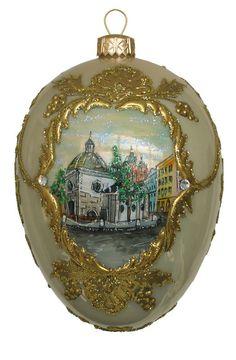 Edward Bar Saint Wojciech Church glass Christmas Ornament  $45.00 - eBay